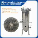 De industriële 316L Huisvesting van de Filter van de Patroon van Roestvrij staal 304 316 met 10 '' 20 '' 30 '' 40 Lengte ''