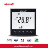 Ультра тонкий термостат топления пола экрана касания Programmable (Q8-PE)