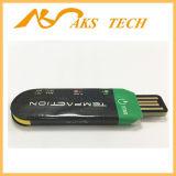 찬 사슬 USB 처분할 수 있는 데이터 기록 장치 온도