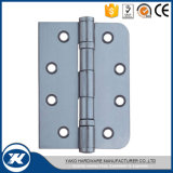 Dobradiça de extremidade de madeira inoxidável da porta da ferragem 2bb da porta do aço