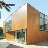 De nieuwe Bekleding van de Muur van de Decoratie Materiële PVDF ACS Buiten (af-411)