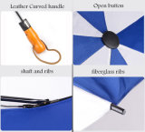 남자의 광고 선전용 선물 28inch 2 겹 골프 우산