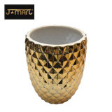 Pacchetto stabilito dei prodotti 4PCS del bagno di ceramica dorato del Medio Oriente