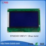 Da '' módulo 240*128 do diodo emissor de luz LCD do indicador SMT do LCD do molde azul polegada Sym240128EV11 5.3