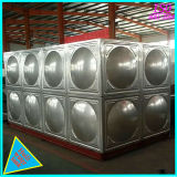 Réservoir d'eau en acier inoxydable contiennent 300m3 d'eau