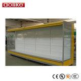 スーパーマーケットの遠隔冷却装置の開いたスリラー