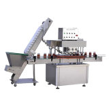 Líquido lineal máquina de llenado y tapado