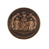 Estampación personalizada conmemorativa de cobre antiguo reto Coin