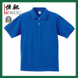 Blanc Vert promotionnels personnalisés col rond T-shirt en coton