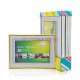 Big Size Golden delicious and Silver Color Plastic Photo Frame E1008