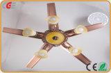 2017 Licht het Van uitstekende kwaliteit van de Plafondventilator van de Ventilator van Lnvisible van het Nikkel van het Satijn