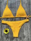 Фабрика Clothin бикини способа Бикини желтого Swimwear Бикини сексуальная