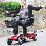 Asiento de dos Scooters de movilidad eléctrica con cesta