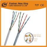 실내 커뮤니케이션 케이블을%s 공장에 의하여 주문을 받아서 만들어지는 Cat5e CAT6 네트워킹 케이블 근거리 통신망 케이블