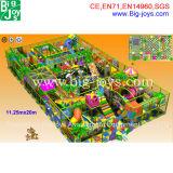 Большой крытый детская площадка для торгового центра развлечений, игровая площадка для установки внутри помещений (BJ-ID08)
