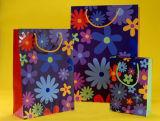 Mode Papier sac cadeau de Noël avec poignée