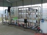 Опреснение соленой воды подвергает завод механической обработке системы питьевой воды