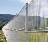 Sicherheit geschweißter 3D Maschendraht-Zaun