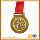 Medalhões do metal do OEM com cor e logotipo personalizados