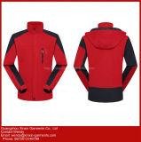 Commerce de gros de femmes adultes personnalisé polyester Veste Coupe-vent pour l'extérieur (J261)