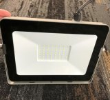 Luz de inundação ao ar livre magro super do diodo emissor de luz da iluminação PC+Aluminium+Glass 10W de Ctorch