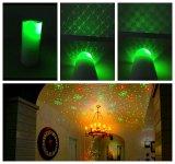 Luz de la vela LED/luz laser de la vela/luz laser verde de la vela/luz de la Navidad/proyector