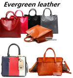 Sacchetto classico della signora Tote del cuoio genuino dei sacchetti di spalla della donna di modo della borsa di disegno dalla Cina Emg5222