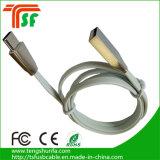 Tipo-c de la aleación del cinc al cable de carga de la sinc. de los datos rápidos del cargador