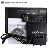 Orignal Amlogic S905X Quad Core Android 6.0 Set Top Box Boîte IPTV Kodi WiFi de la précharge de l'Europe