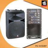 15 Spreker pS-1915mbt van de PA van de Echo van Bluetooth EQ van de FM van de duim 250W USB BR de Plastic Actieve