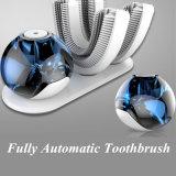 2018 erfinderisches Produkt Ltrasonic 360 Grad-intelligente vollautomatische Zahnbürste 15seconds, die blinkendes Licht-orale Sorgfalt weiß wird