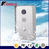 Knzd-47 Sistema de entrada accesible teléfono al aire libre con un botón