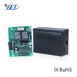 Relè senza fili 9V-24V Yet402PC-V2.0 di telecomando della ricevente 2CH rf della fabbrica di Shenzhen