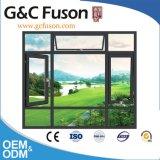 Profilo di alluminio d'anodizzazione dell'espulsione di colore differente fuori della finestra di apertura