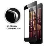 3DはiPhone7のためのエッチングされた緩和されたガラススクリーンの保護装置を曲げた