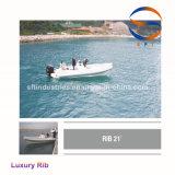 21 ' Hypalon/FRP Luxuxrippen-aufblasbare Boote hergestellt in China