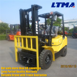 Mini Hydraulic Forklift 2,5 tone LPG dual Fuel Forklift for halls