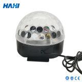 Luz mágica cristalina de la bola de la alta calidad LED con el MP3
