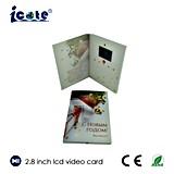 2.8 pulgadas LCD Videopak con la cámara de felicitación de Navidad