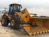 판매를 위한 이용된 본래 중국 고양이 966h 바퀴 로더
