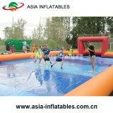 Strand-aufblasbarer Volleyball-Bereich, Handelsaufblasbarer Volleyball-Mietbereich
