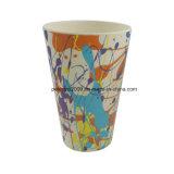 400ml 다채로운 헬스케어 선전용 대나무 섬유 커피잔