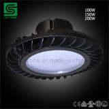 UFO LED 높은 만 빛 둥근 LED 창고 램프 IP65 산업 전등 설비
