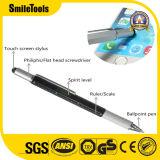 Schermo magnetico di Level&Touch di spirito del righello del cacciavite di precisione della penna di Ballpoint