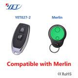 433 구르는 부호 원격 제어 보충 Merlin+ 호환성 Keyfob 전송기