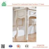 ملكيّة بيضاء خشبيّة أثاث لازم غرفة نوم أثاث لازم ثوب [كنسل تبل] مع مرآة