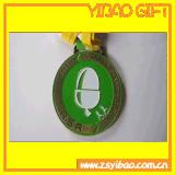 주문 녹색 사기질 녹색 금속 3D 큰 메달 /Medal (YB-MD-486)