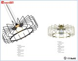 Hot Sale et un nouveau design moderne de la lumière au plafond ce simple