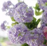 Les fleurs artificielles vendent la fleur artificielle de mariage de l'Irlande de mariage de Hydrangea artificiel bon marché en soie en bloc de bouquet