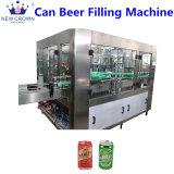 La tapa corona automática máquina de llenado de cerveza